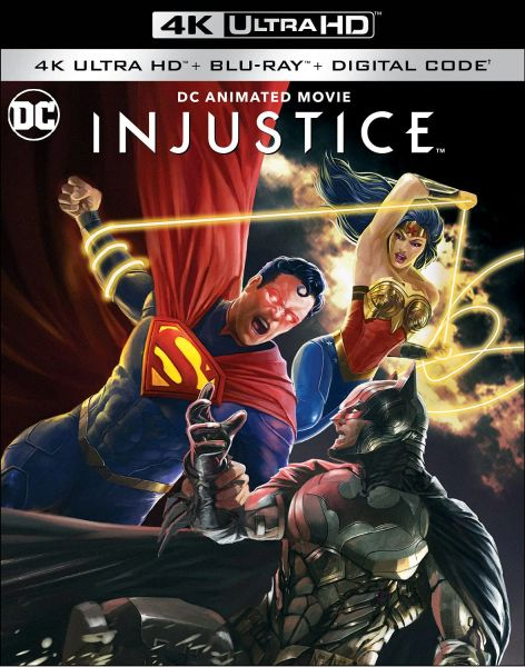 Injustice 4K UHD Code, code will be sent out on 10/21