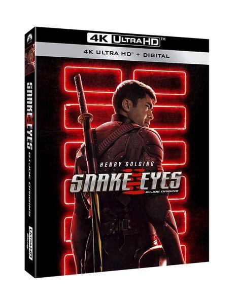 Snake Eyes: G.I. Joe Origins 4K UHD Code