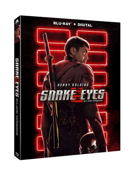 Snake Eyes: G.I. Joe Origins Digital HD Code
