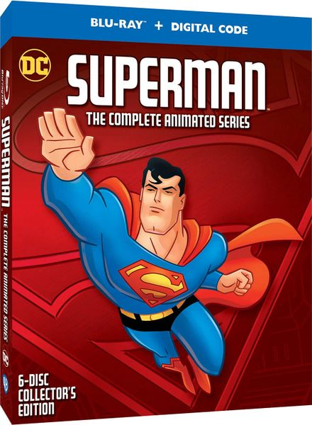 Superman: The Complete Animated Series Digital HD Code, code will be sent out on 10/27