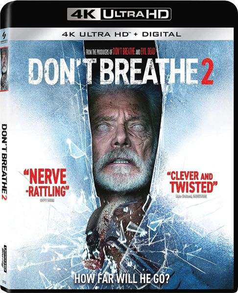Don't Breathe 2 4K UHD Code (Movies Anywhere), code will be sent out on 10/28