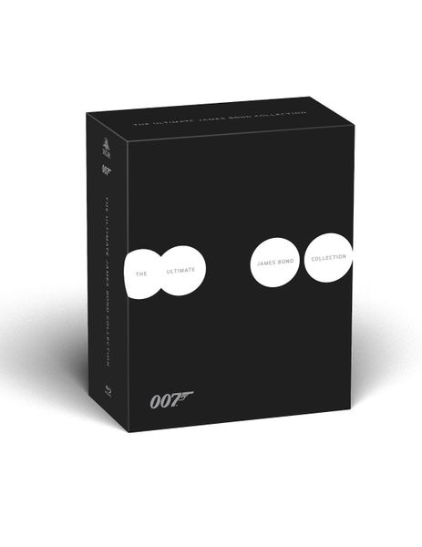 The Ultimate James Bond Collection All 24 Movies Digital HD Code (VUDU)