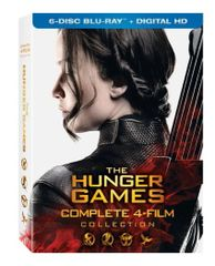The Hunger Games: Complete 4 Film Collection Digital HD Code only (bundle sale)