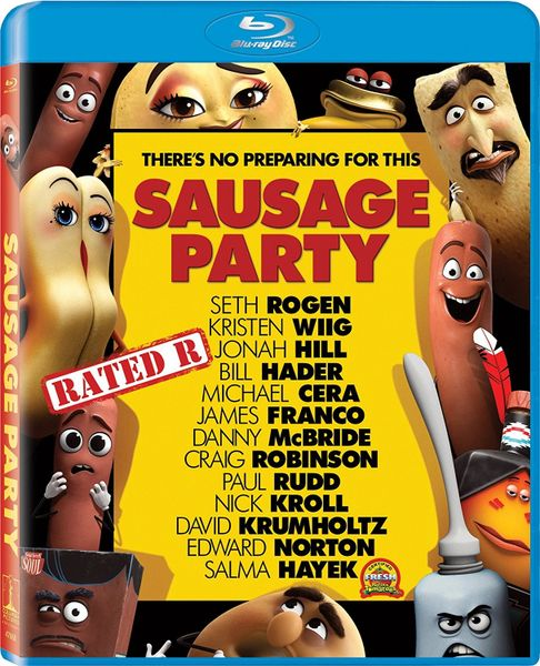 Sausage Party Digital HD Code only, NO DISC