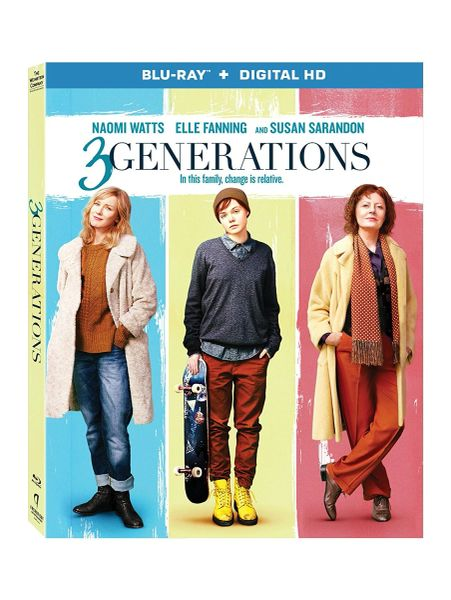 3 Generations Digital HD Code only, NO DISC