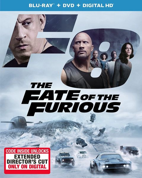 The Fate of the Furious (Theatrical Version) Digital HD Code- UV or iTunes