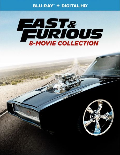Fast & Furious 8-Movie Collection Digital HD Code- UV or iTunes