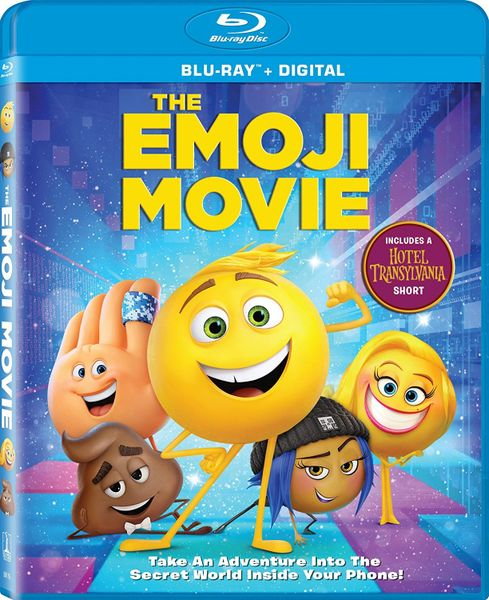 Emoji Movie Digital HD Code, UV only