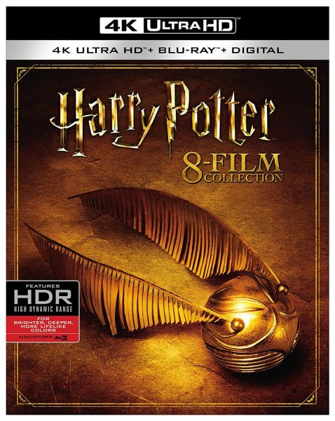 Harry Potter Collection 8-film 4K Ultra HD Code