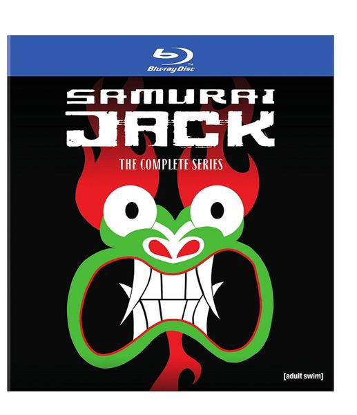 Samurai Jack: The Complete Series Digital HD Code, UV only