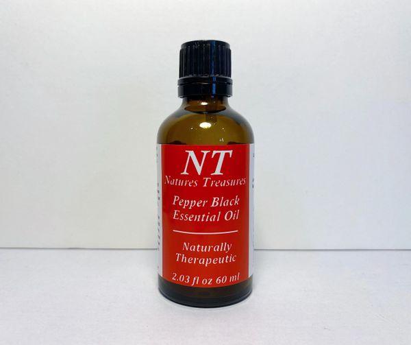 PEPPER BLACK ESSENTIAL OIL 60 ML