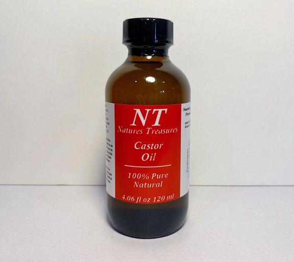 CASTOR OIL 4 OZ
