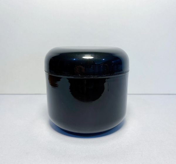 PK Black 4oz Double Wall Jar and Cap