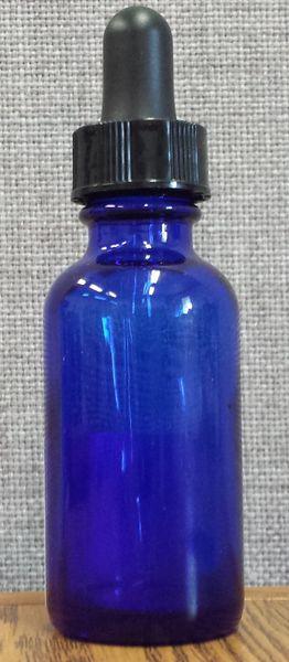 PK Blue 1oz Glass Dropper