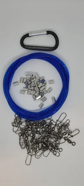 Do it yourself Monofilament Rigging Kits w/o weights