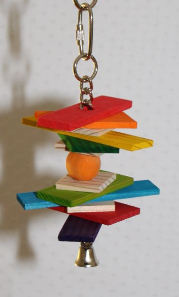#102 Small Bird Toy Rectangles and Natural Squares
