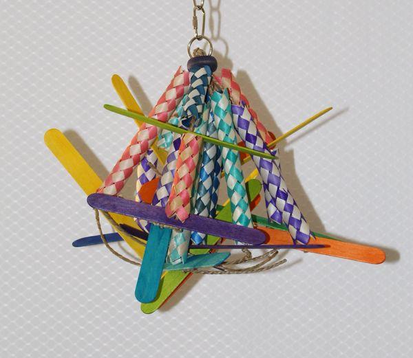 #10 Small Finger Trap Chew Toy