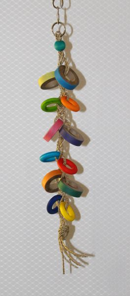 #13 Braided Chew Toy with Bangles