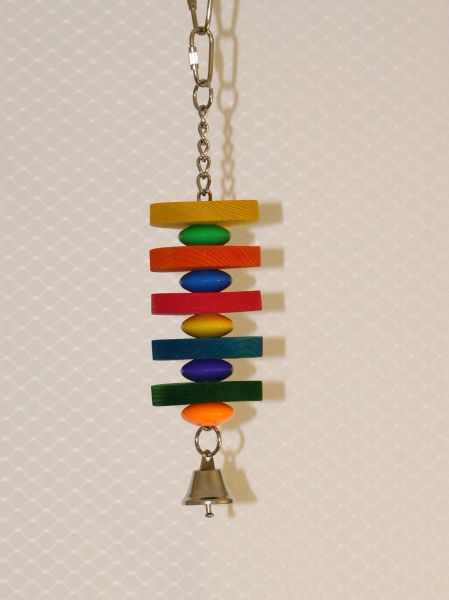 #63 Small Circle and Plastic Beads