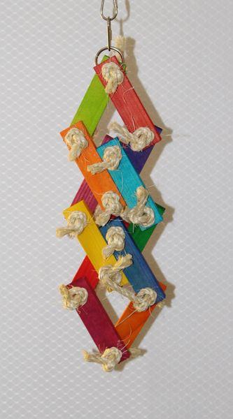 #83 Wood Rectangle Link