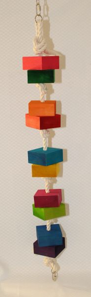 #89 Large Cubes on Rope