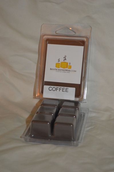 Coffee Triple Scented Wax Melts (One Shell Holds 6 Cubes)