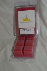 Ceder Fragrance Triple Scented Wax Melts (Shell Holds 6 Cubes)