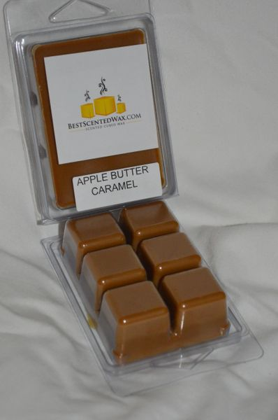 Apple Butter Caramel triple scented wax Melts(6 Cubes Per Shell)