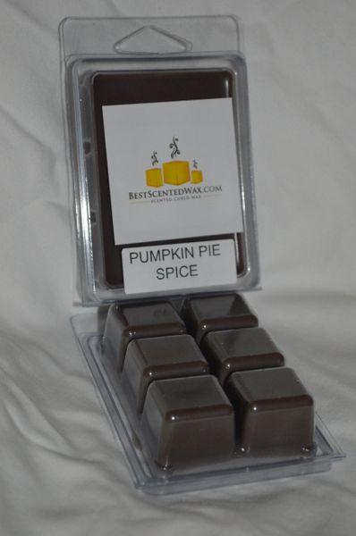 Pumpkin Pie Spice Triple Scented Wax Melts (6 Cubes Per Shell)