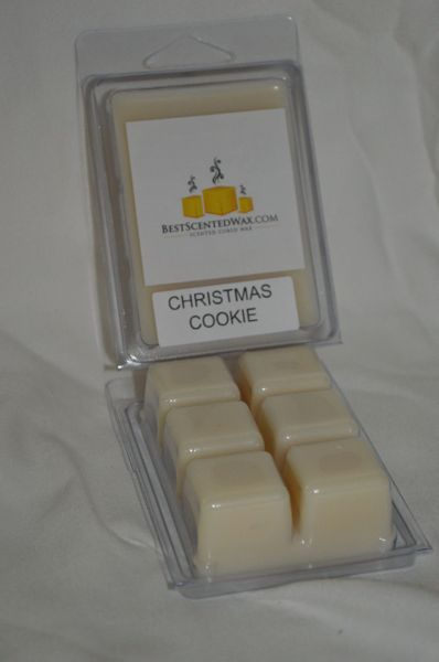 Christmas Cookie Triple Scented Wax Melts (6 cubes Per Shell)