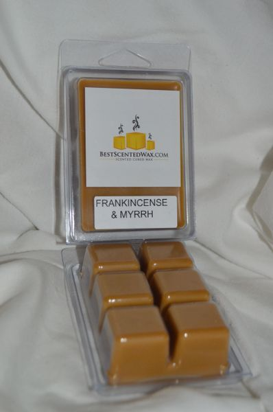 Frankincense and Myrrh Triple Scented Wax Melts (6 Cubes Per Shell)