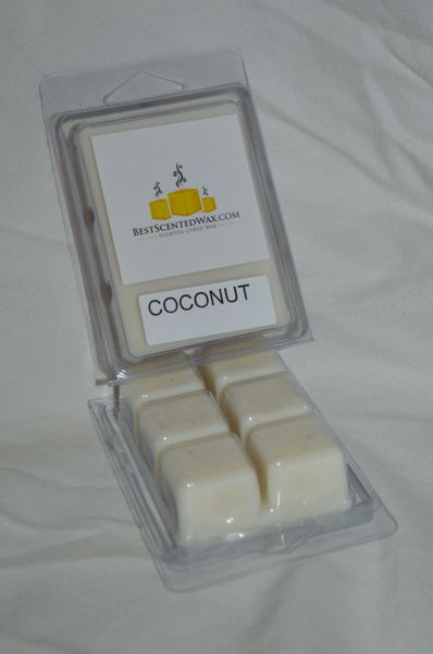 Coconut Triple Scented Wax Melts (6 Cubes Per Shel)