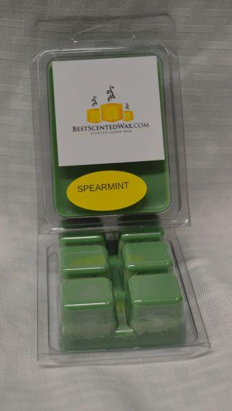 Spearmint Triple Scented Wax Melts (6 Cubes Per Shell)