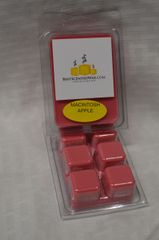 Macintosh Apple Triple Scented Wax Melts (6 Cubes Per Shell)