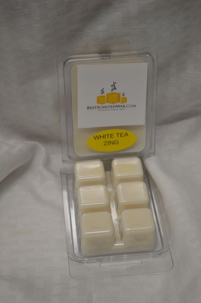 White Tea Zing Wax Melts (Triple Scented)