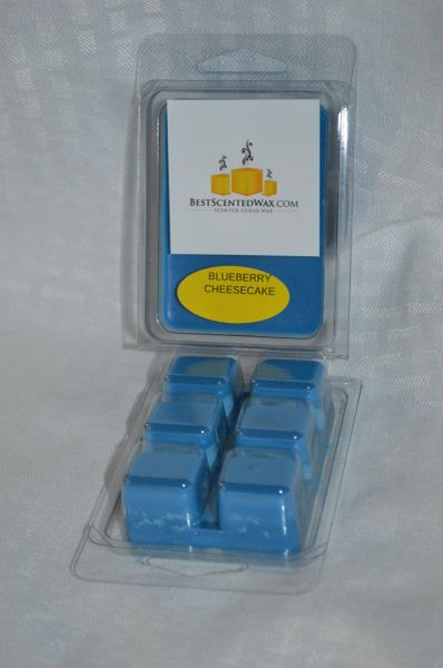 Blueberry Cheesecake Triple Scented Wax Melts (6 Cubes Per Shell)