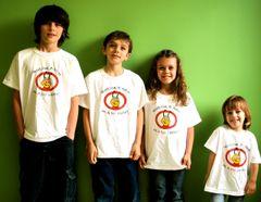 "Professor B T-shirts ""I'm a Bee Student"" size 2-4"