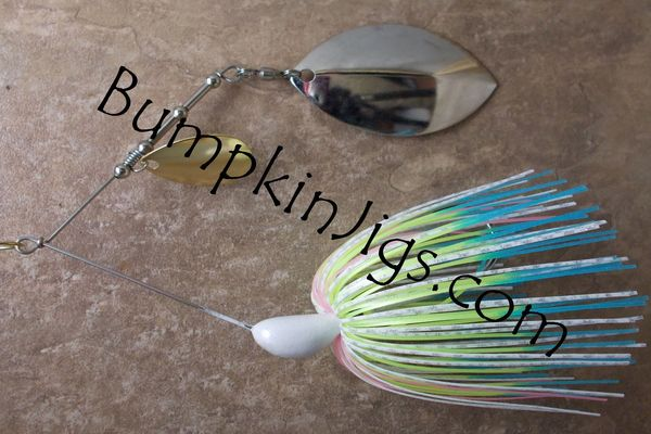 Cat Head Mag Willow/Colorado Spinnerbait