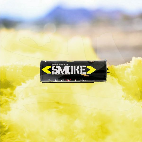 BURST (WPB) ENOLA GAYE WIRE PULL TWIN VENT COLOR SMOKE GRENADES [YELLOW]