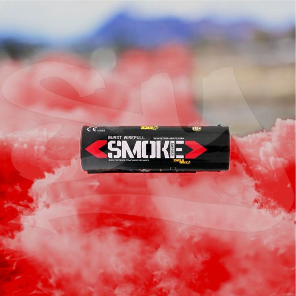 BURST (WPB) ENOLA GAYE WIRE PULL TWIN VENT COLOR SMOKE GRENADES [RED]