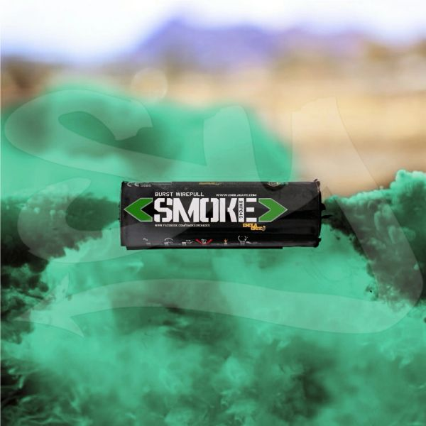 BURST (WPB) ENOLA GAYE WIRE PULL TWIN VENT COLOR SMOKE GRENADES [GREEN]