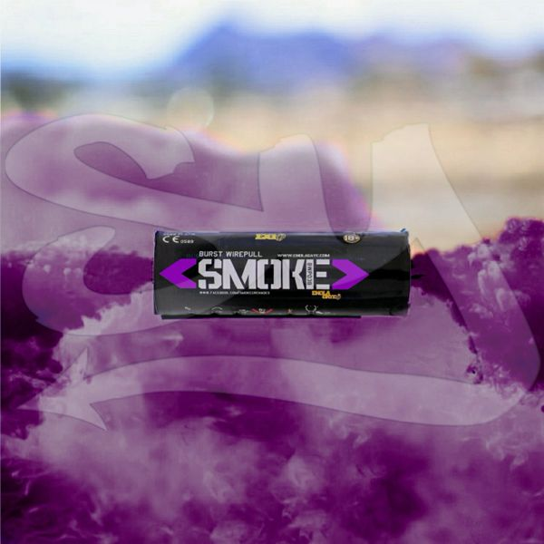 BURST (WPB) ENOLA GAYE WIRE PULL TWIN VENT COLOR SMOKE GRENADES [PURPLE]