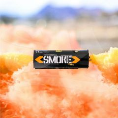 BURST (WPB) ENOLA GAYE WIRE PULL TWIN VENT COLOR SMOKE GRENADES [ORANGE - CHOOSE QUANTITY]