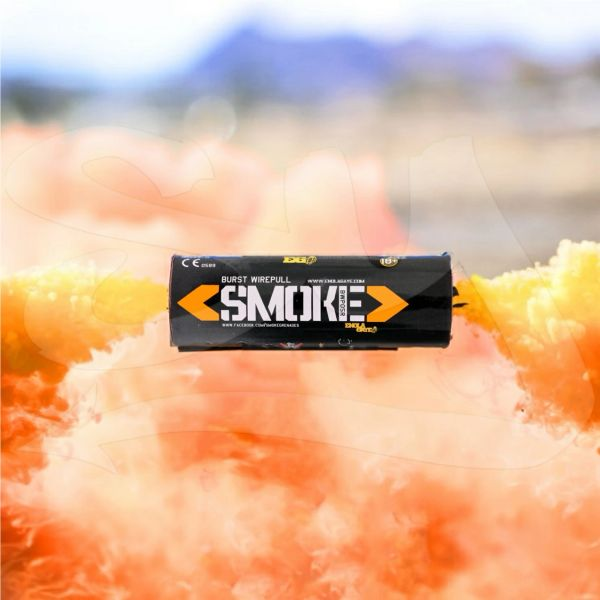 BURST (WPB) ENOLA GAYE WIRE PULL TWIN VENT COLOR SMOKE GRENADES [ORANGE]