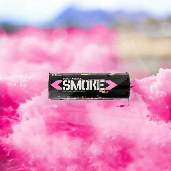 BURST (WPB) ENOLA GAYE WIRE PULL TWIN VENT COLOR SMOKE GRENADES [PINK]