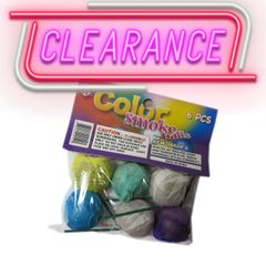 [CLEARANCE] Premium Paper Color Smoke Balls for Photography and Film (Choose Quantity)