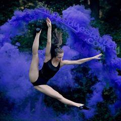 BURST (WPB) ENOLA GAYE WIRE PULL TWIN VENT COLOR SMOKE GRENADES [BLUE - CHOOSE QUANTITY]
