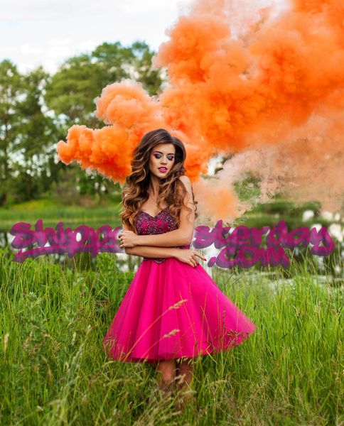 MICRO (EG25) ENOLA GAYE WIRE PULL COLOR SMOKE GRENADES [ORANGE]