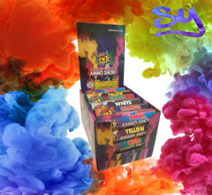 New Release: TNT Assorted Color Ammo Smoke Bomb Fountain Sticks