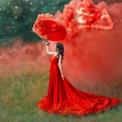 MICRO (EG25) ENOLA GAYE WIRE PULL COLOR SMOKE GRENADES [RED - CHOOSE QUANTITY]